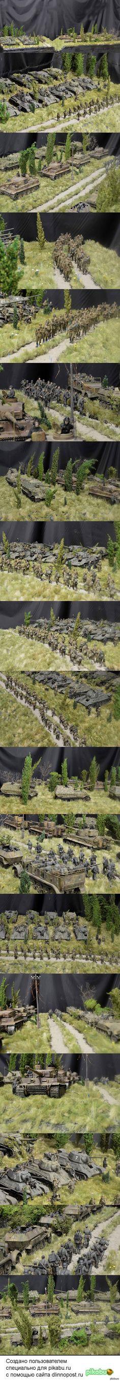 На поле танки грохотали масштаб: 1:35 | автор: Геннадий Завражнев; Котовск, Тамбовская обл., Россия