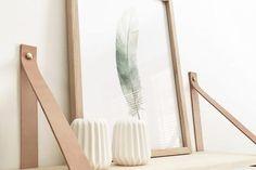 Deze houten fotolijst van het Deense label Hübsch is een aanwinst voor ieders interieur. Maak een leuke compositie met verschillende kaders.Deze fotokader met a