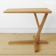 joystyle-interior | Rakuten Global Market: Oak wood oak natural wood wooden slim amount depends on the artistic design and feel dignified side table SPOKE-ST Internet shop limited original settings * material!