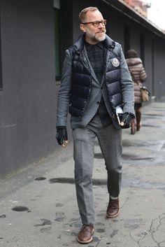 Street chic à Milan