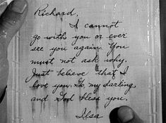 Casablanca (1942)   The letter is crying. It's as if her tears are being expressed visibly on the page. - Roger Ebert