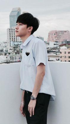 Résultats de recherche d'images pour « mark siwat jumlongkul » Asian Boys, Techno, Ulzzang, Chef Jackets, Polo Ralph Lauren, Drama, Actors, My Love, Cute
