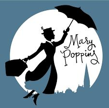 The ubiquitous Mary Poppins. This series was written by Pamela Travers. Mary Poppins Silhouette, Disney Songs, Disney Films, Disney Art, Disney Fantasy, Most Popular Disney Movies, Merry Poppins, Album Jeunesse, Park Art