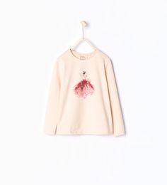 ZARA - KIDS - Ballerina T-shirt