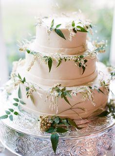 Wedding cake - cream coloured