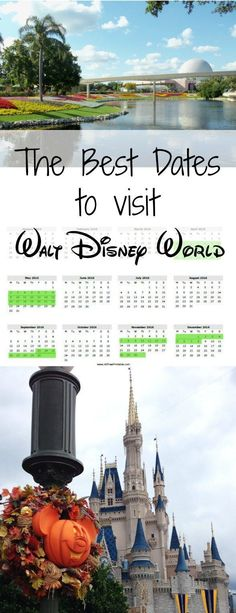 Best times of year to visit Walt Disney World - Your travel dates make all the difference
