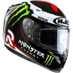 The brand new HJC Jorge Lorenzo MotoGP helmet - http://replicaracehelmets.com/product/hjc-r-pha10-plus-jorge-lorenzo-motogp-helmet/