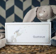 Faire-part Noukie's Bao & Wapi (Gustave)