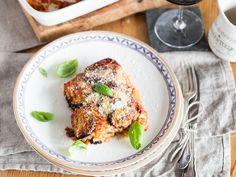 Italienischer Auberginenauflauf: Parmigiana