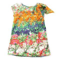 1e46fe3e4 Vestido Trapézio Laço Ombro. Vestido TrapezioAcessórios Para BebêOmbroRoupasTopos  Florais