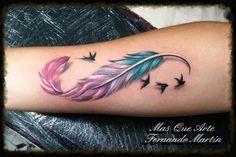Tattoo realizado en MÁS QUE ARTE VALLADOLID,por Fernando Martín Sacristán
