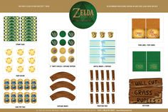 List Of Zelda Food For Parties