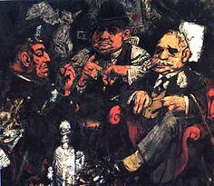 Jack-Levine-The-Feast-of-Pure-Reason-1937.jpg (300×261)