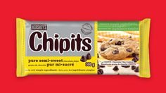 Make your own delicious and appetizing chocolate chip cookies with the Original CHIPITS Cookies Recipe from Hershey Kitchens. Easy to make, hard to resist. Hershey Cookie Recipe, Perfect Chocolate Chip Cookie Recipe, Semi Sweet Chocolate Chips, Melting Chocolate, Cookie Recipes, Kitchen Recipes, Food To Make, Baking Ideas, Christmas Treats
