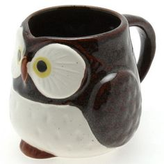 Another cute Japanese owl mug.