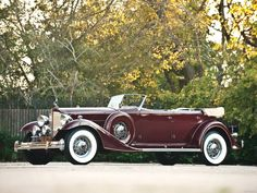 1933 Packard Custom Twelve Sport Phaeton by Dietrich