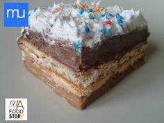 Sastav-Kora: Plazma keks...500 gr, Puter...150 gr, Šećer u prahu (po želji)…