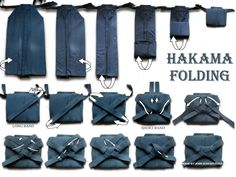Hakama folding - so difficult yet so calming