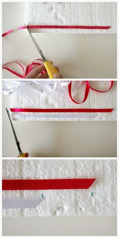 Kreativně s Ladybird: Jak vyrobit svatební vývazky (mašličky) na myrtu