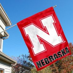 University of Nebraska Cornhuskers House Flag by College Flags and Banners Co.. $23.95. University of Nebraska Cornhuskers House Flag is 30x40 inches in size, is made of single-ply polyester with double-sided bottom school panel, has a top sleeve for insertion of a wood or aluminum flagpole, and the Licensed NCAA School logos are screen printed into this University of Nebraska Cornhuskers House Flag.. Save 14%!