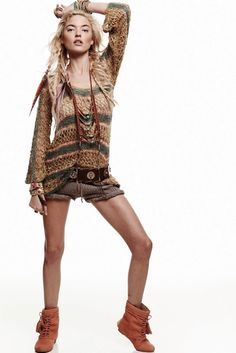 Knit shorts for winter, coolest piece !