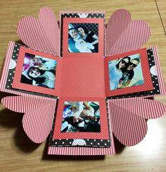 Caixa explosiva personalizada com fotos. Saiba mais: https://www.elo7.com.br/caixa-explosiva-personalizada-com-fotos/dp/9B0CD5#smsm=0&df=d&rps=0&cpr=0&ucf=1&ucrq=1&uss=1&sac=0&uso=m&usf=1
