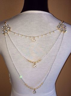 Pretty sure this is the one I want Marianna  Swarovski crystals and gold accented by PurelyEthereal, $120.00