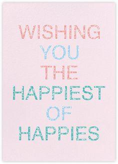 Happy Happy Birthday - Paperless Post