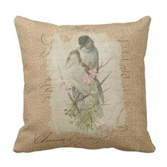 Victorian French Love Birds Love Track Throw Pillow.  Figure out even more at the picture