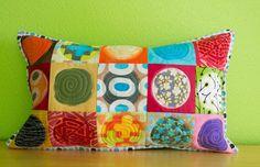 Twinkle Mini Pillow by stitchindye on Etsy, $60.00