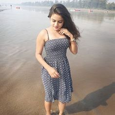 Image may contain: 1 person, standing, outdoor and water Beautiful Girl Photo, Cute Girl Photo, Beautiful Girl Indian, Girl Photo Poses, Beautiful Indian Actress, Girl Photos, Beautiful Toes, Gorgeous Women, Stylish Girls Photos