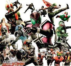 Blog Toku Force: Review - Kamen Rider Black - Tudo sobre o Herói que marcou uma…