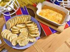 Get Hot Roasted Red Pepper Dip Recipe from Food Network