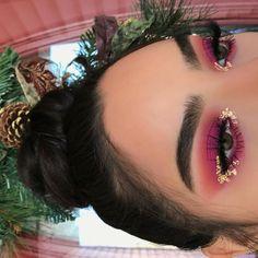 Beauty Make-up Tipps Tutorials Lidschatten 6 – www.GasStationMai … - Prom Makeup Looks Glam Makeup, Rave Makeup, Pretty Makeup, Skin Makeup, Makeup Eyeshadow, Drugstore Makeup, Makeup Brushes, Rose Gold Makeup Looks, Rose Gold Eyeshadow