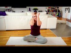 Kurzprogramm Straffe Brust - Fitness Übungen in 2 Minuten - YouTube