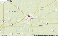 Defiance, OH Map | MapQuest