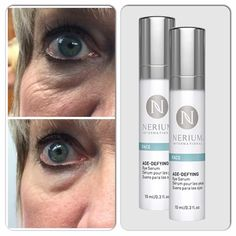 Nerium Eye Serum....magic in a bottle.  This is my eye after 15 minutes.  Interested?   Contact me !  dfranke325@icloud.com