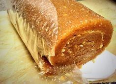 Upload your photo Monterrey Style Guava Roll Recipe Write comment about Monterrey style guava roll pearl do not dry the pasta I do Mexican Snacks, Mexican Candy, Best Mexican Recipes, Sweet Recipes, Favorite Recipes, Sweet Desserts, Dessert Recipes, Guava Recipes, Gastronomia