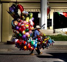...balloons for sale.... San Jose del Cabo, Mexico_ by Meth Swanson