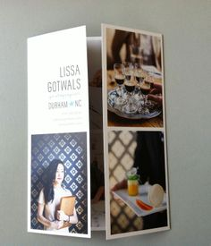Lissa Gotwals' split front cover of her latest photography promo.    Photo by Lissa Gotwals.