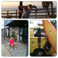 Take your #exercise outdoors - #fitness #equipment that fits your #lifestyle #surf #beach