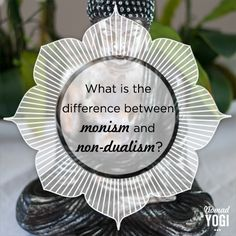 Let's clear out the confusions of monism vs. nondualism once and for all.