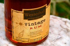 Friday Happy Hour: Warmhearted Westerhall Vintage Rum, Grenada