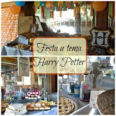 Idee per festa a tema Harry Potter