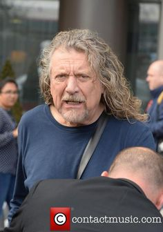 Robert Plant leaving his hotel on Wednesday  Sept. 10, 2014