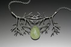double tree necklace by Sarah Hood
