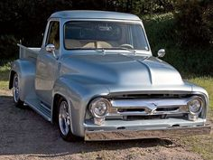 '56 Ford F100 old ford trucks