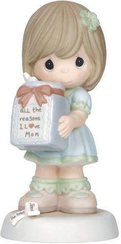 Precious Moments All the Reasons I Love Mom Figurine