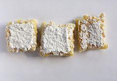 Recipe: Easy Gluten-Free Lemon Bars Holiday Cookie Recipes, Holiday Cookies, Tea Cookies, Lemon Bars, Gluten Free Flour, Family Meals, Baking, Desserts, Easy