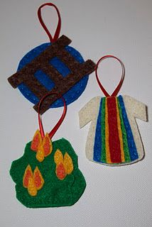 Jesse Tree Felt Ornaments (Part One)